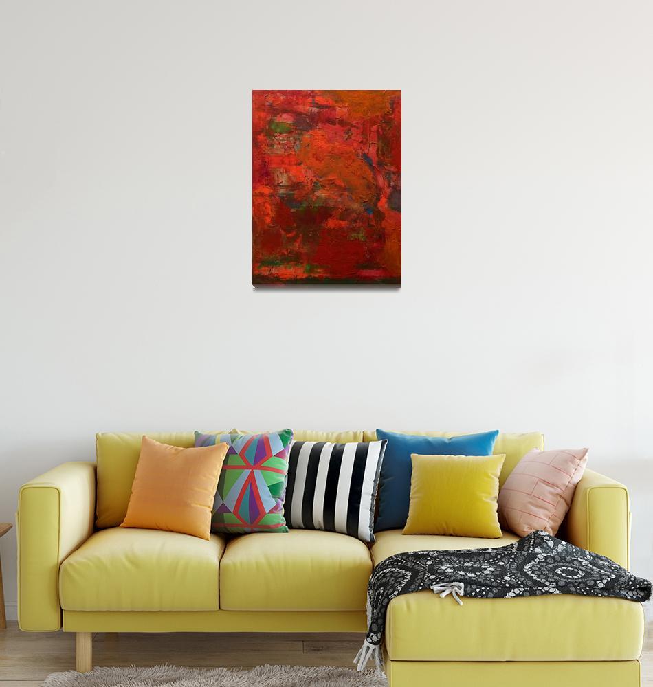 """Red Storm""  (2018) by allanfriedlander"