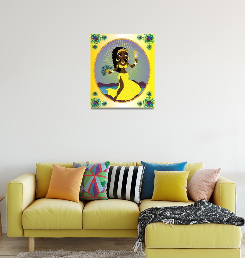 """""""Oshun""""  (2013) by Evilkid"""