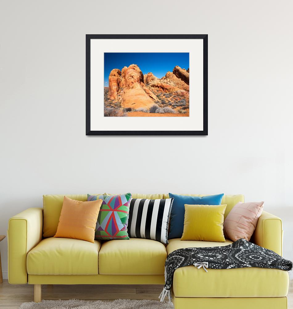 """""""Valley Of Fire State Park""""  by DesertRenditions"""