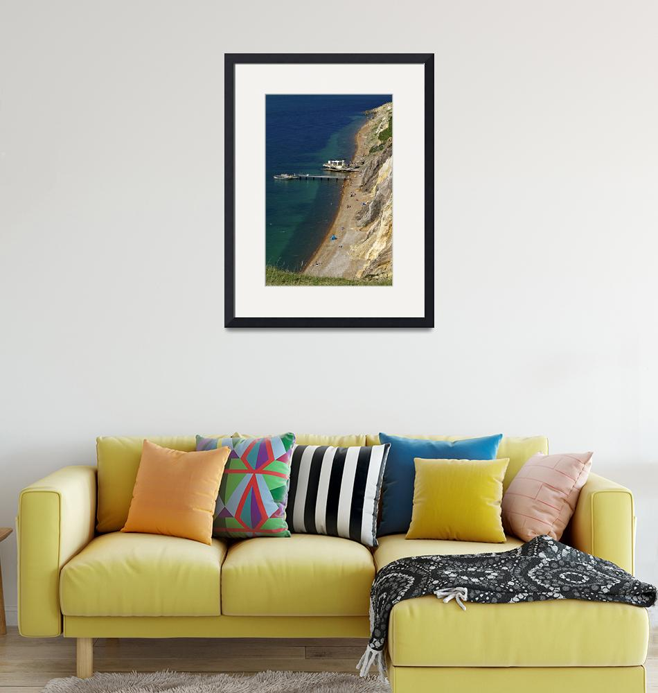 """The Beach and Sand Cliffs of Alum Bay (31990-RDA)""  (2012) by rodjohnson"