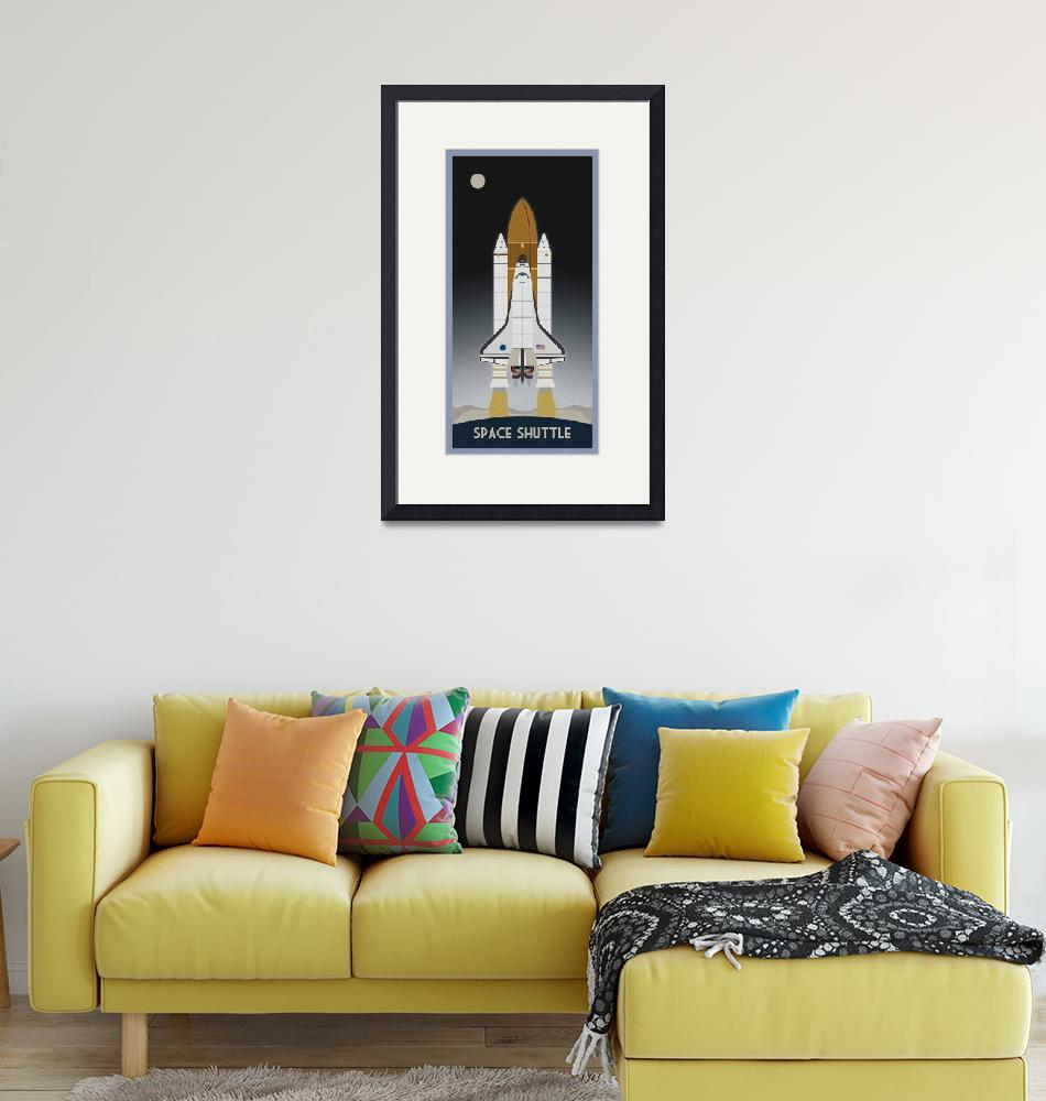 """""""Shuttle Launch""""  (2011) by scbb11Sketch"""