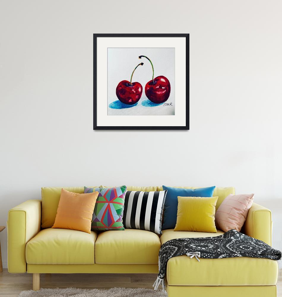"""""""Sweet Cherries by Stephanie Rothwell""""  (2019) by smr13"""
