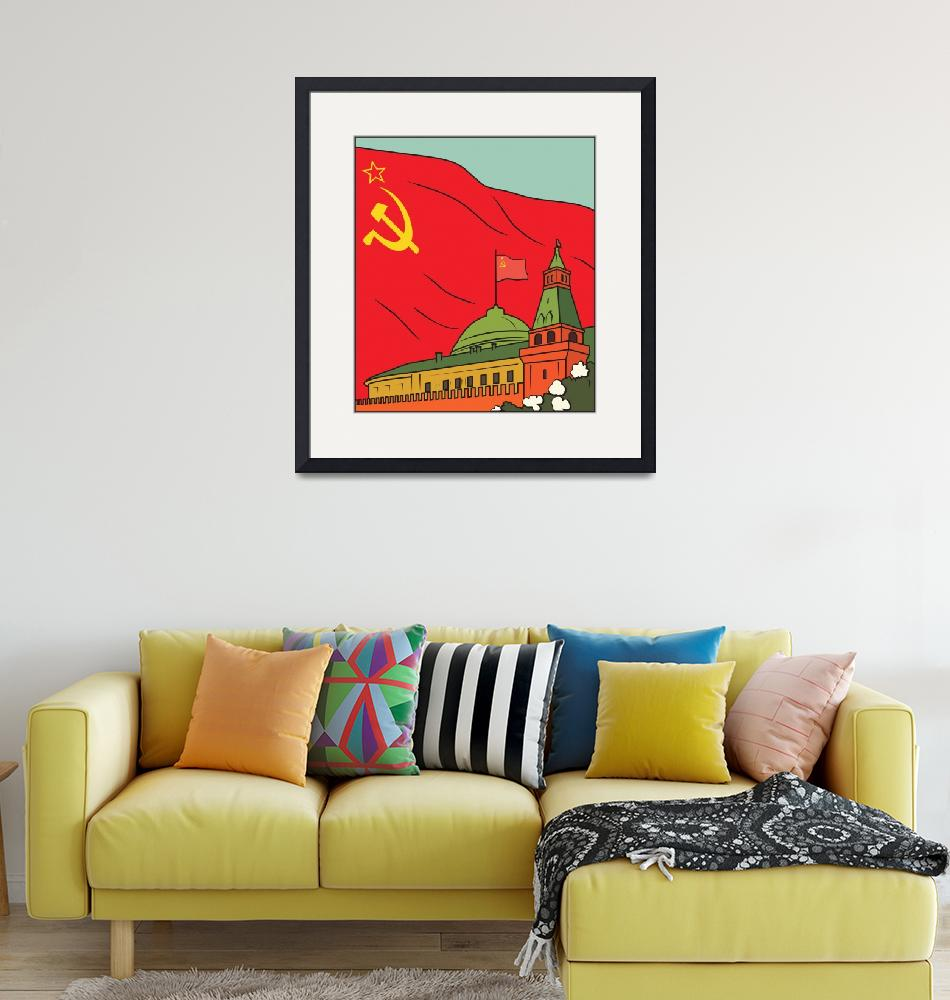"""Soviet Union Communist Communism USSR Russia 30""  by oldies"
