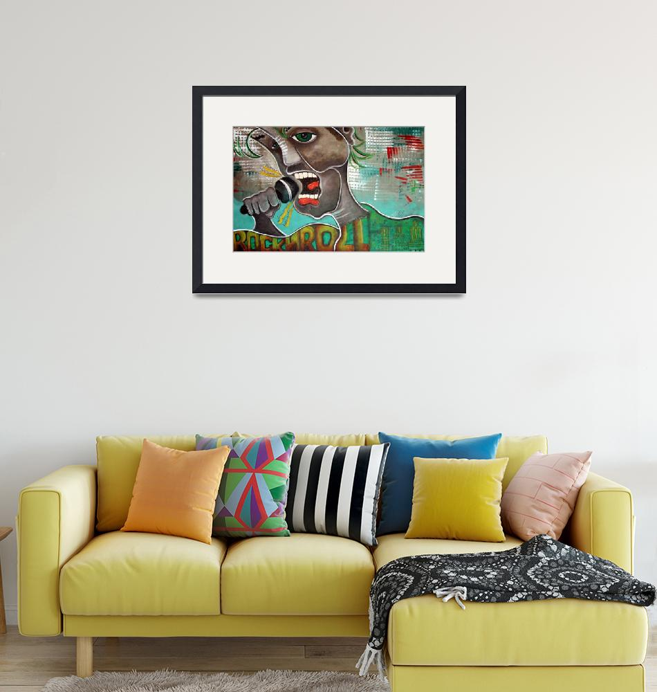 """""""The Singer""""  (2007) by ArtPrints"""