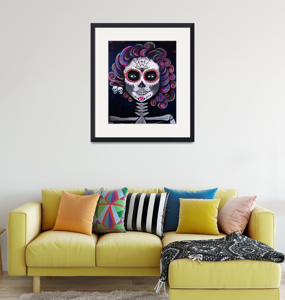 """""""Sugar Skull Candy2""""  (2015) by CLEArT"""