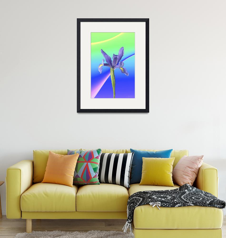 """""""Abstract flower collection (01 of 16)""""  (2012) by WallArtDeco"""