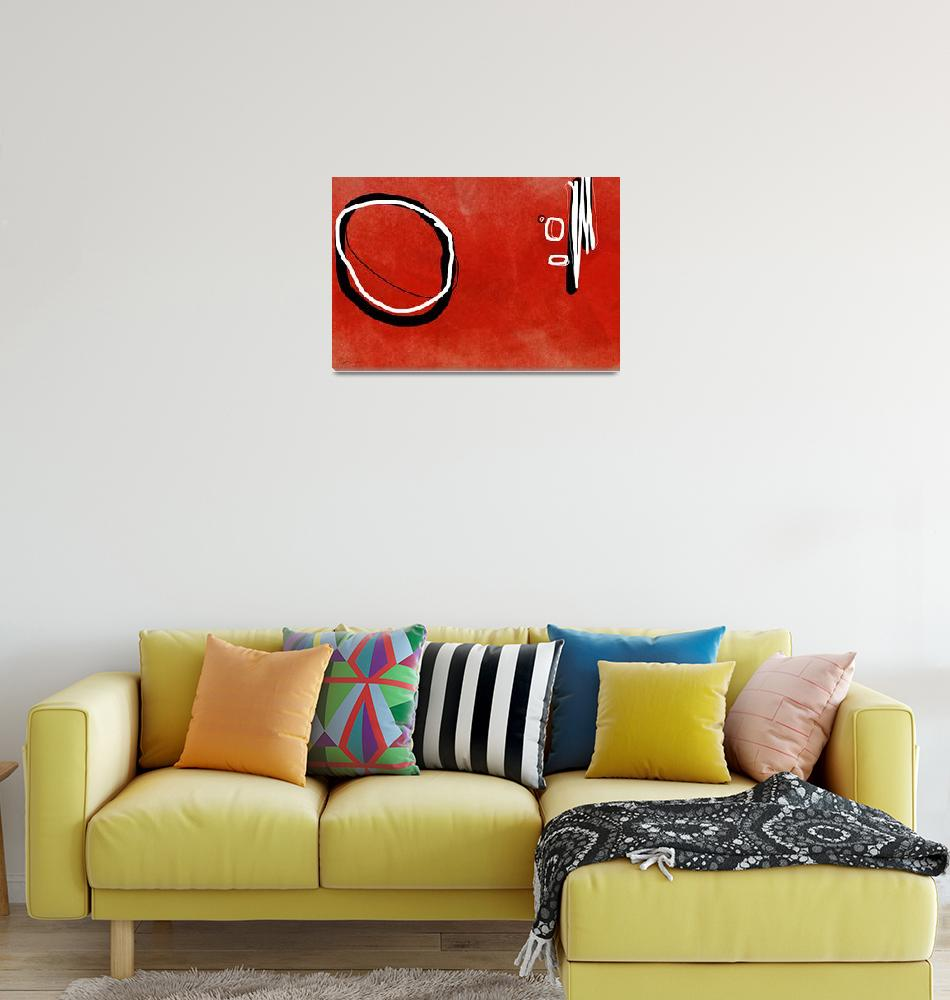 """""""Red Circle""""  by ellsworth"""