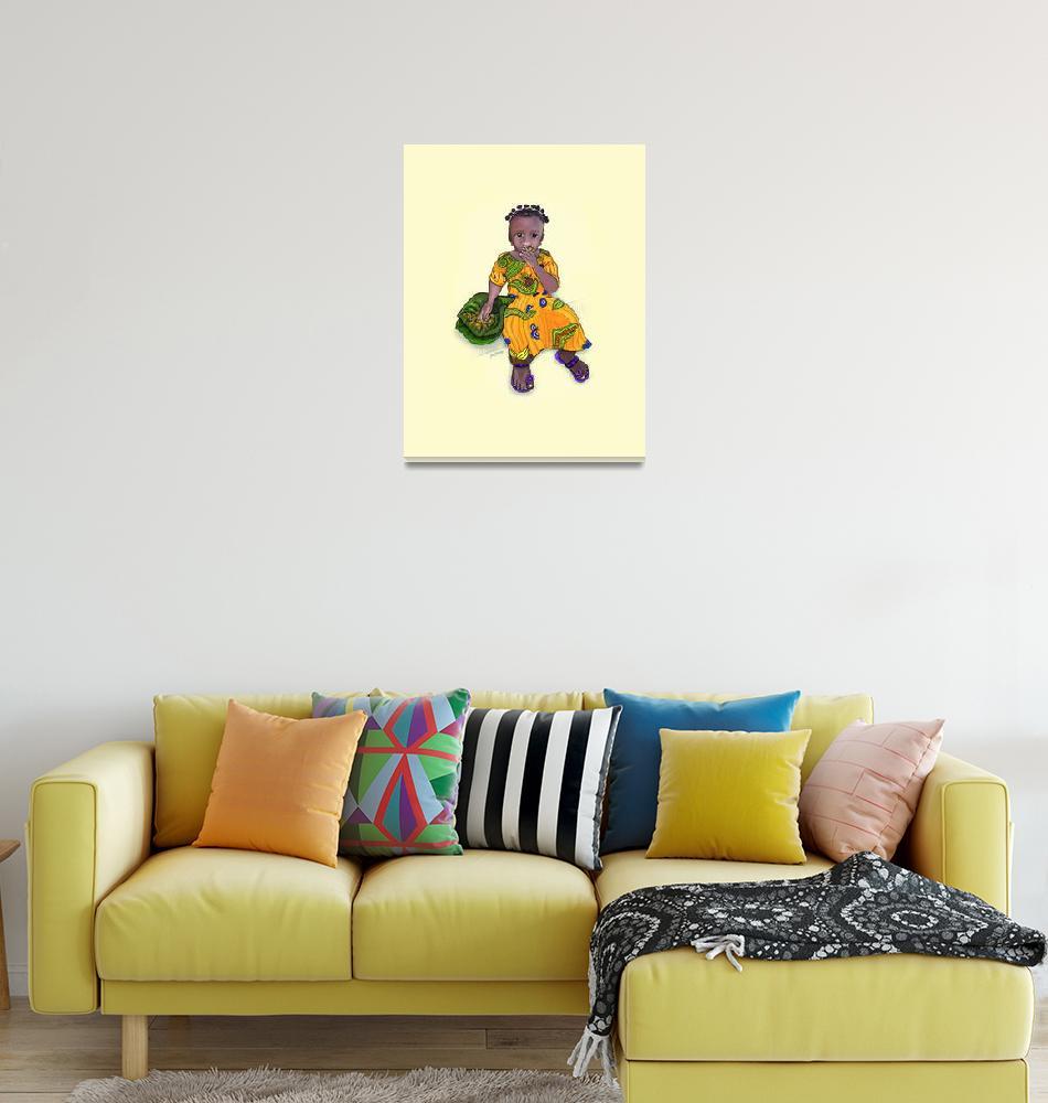 """""""Little African Girl""""  by denisebarringer"""