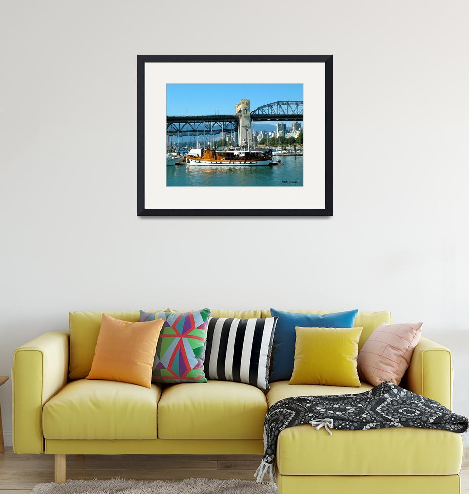 """""""Vancouver BC harbor""""  (2008) by nicoindo"""