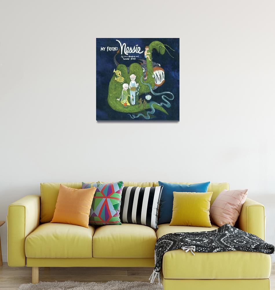 """""""My Friend Nessie""""  by WinnieFitch"""