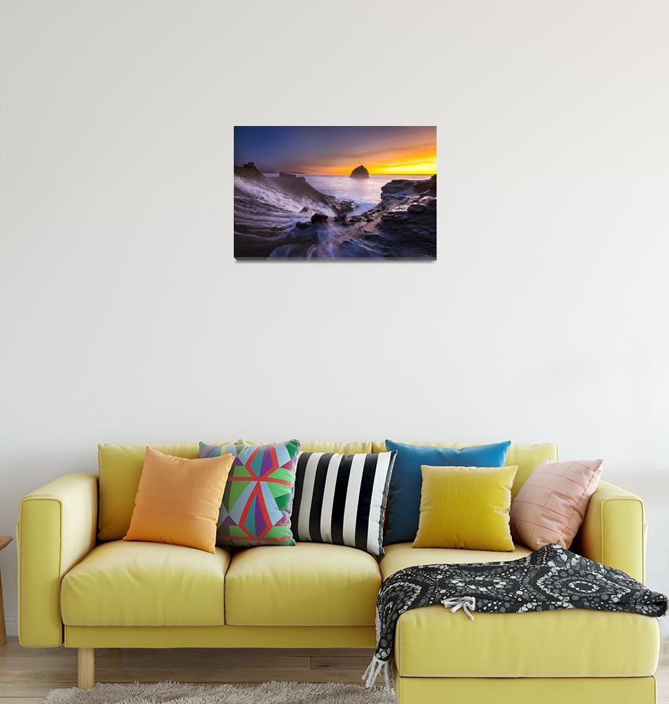 """Cape Kiwanda Sunset by Cody York_1827""  by cyorkphoto"