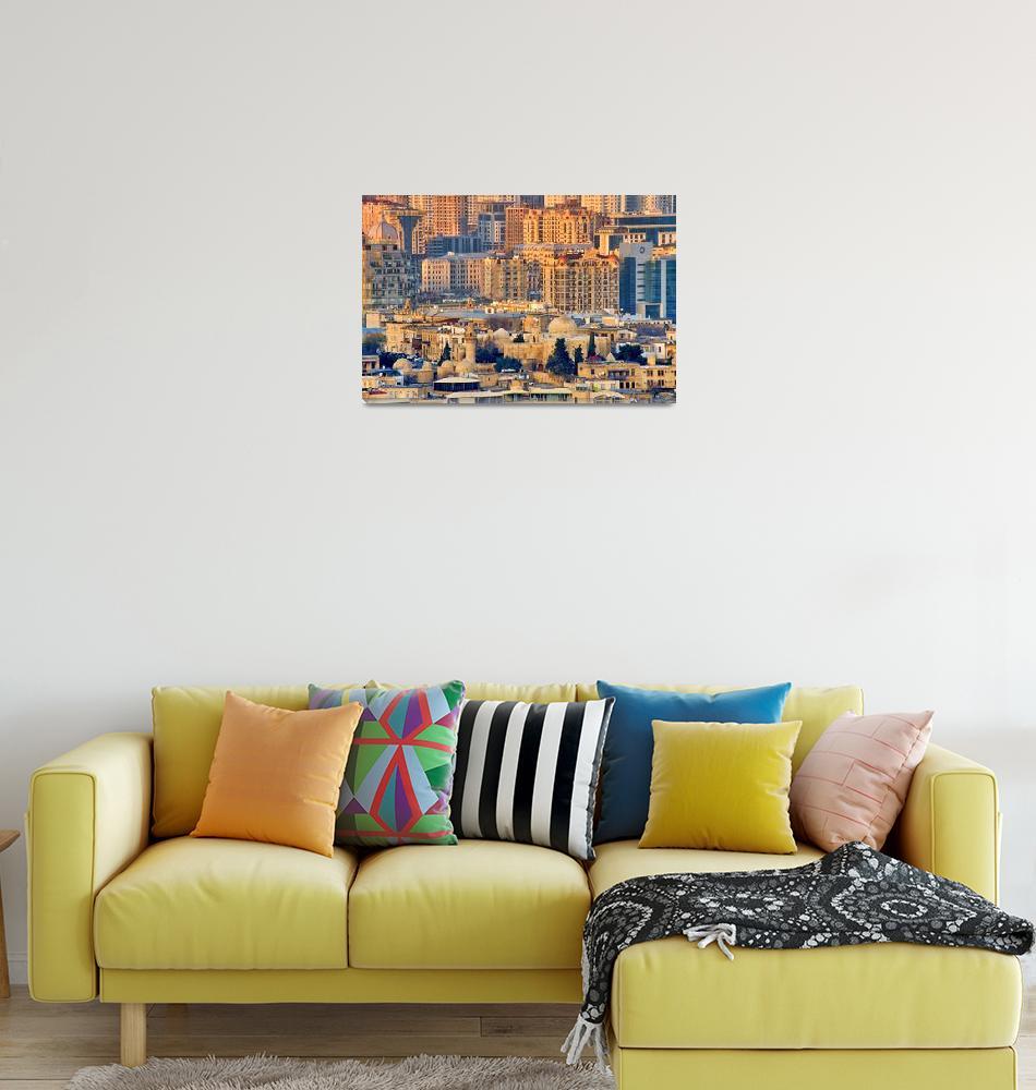 """View of Baku""  by onlyfabrizio"