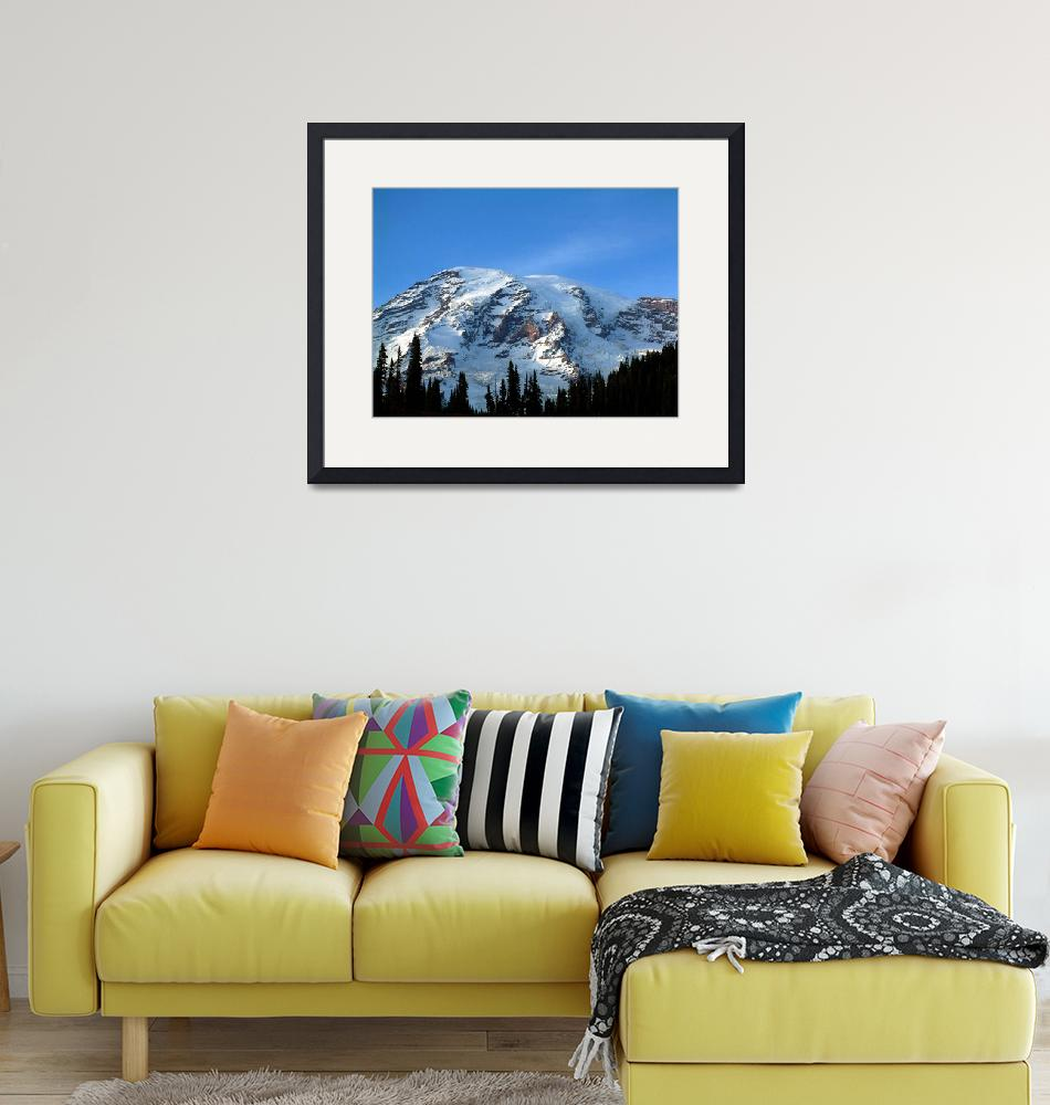 """""""mt rainier from paradise""""  by salmonbay"""