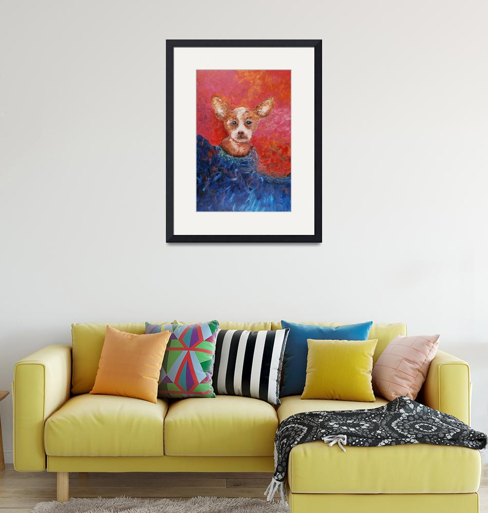 """""""Chihuahua Blues""""  by nadinerippelmeyer"""