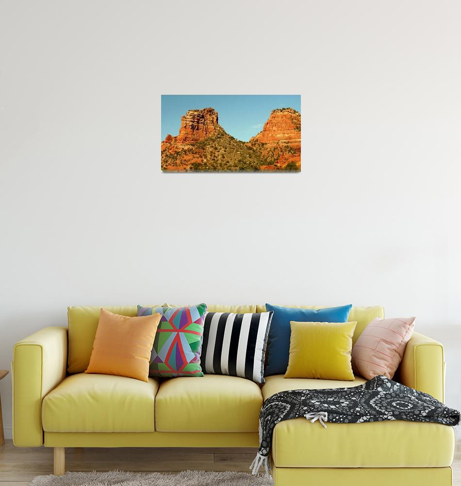 """Castle Rock, Sedona""  (2008) by rayjacque"