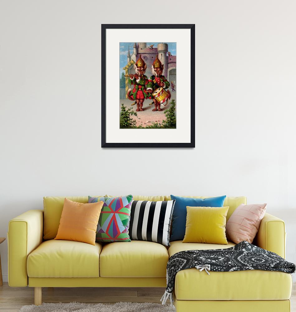 """Fife & Drum Foxes""  by decoratifcollections"
