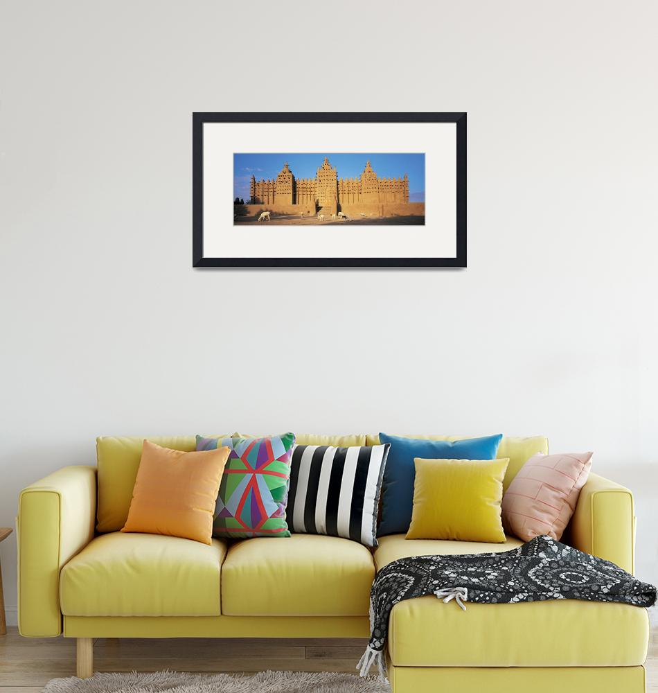 """""""Konboro Mosque Mali Africa""""  by Panoramic_Images"""