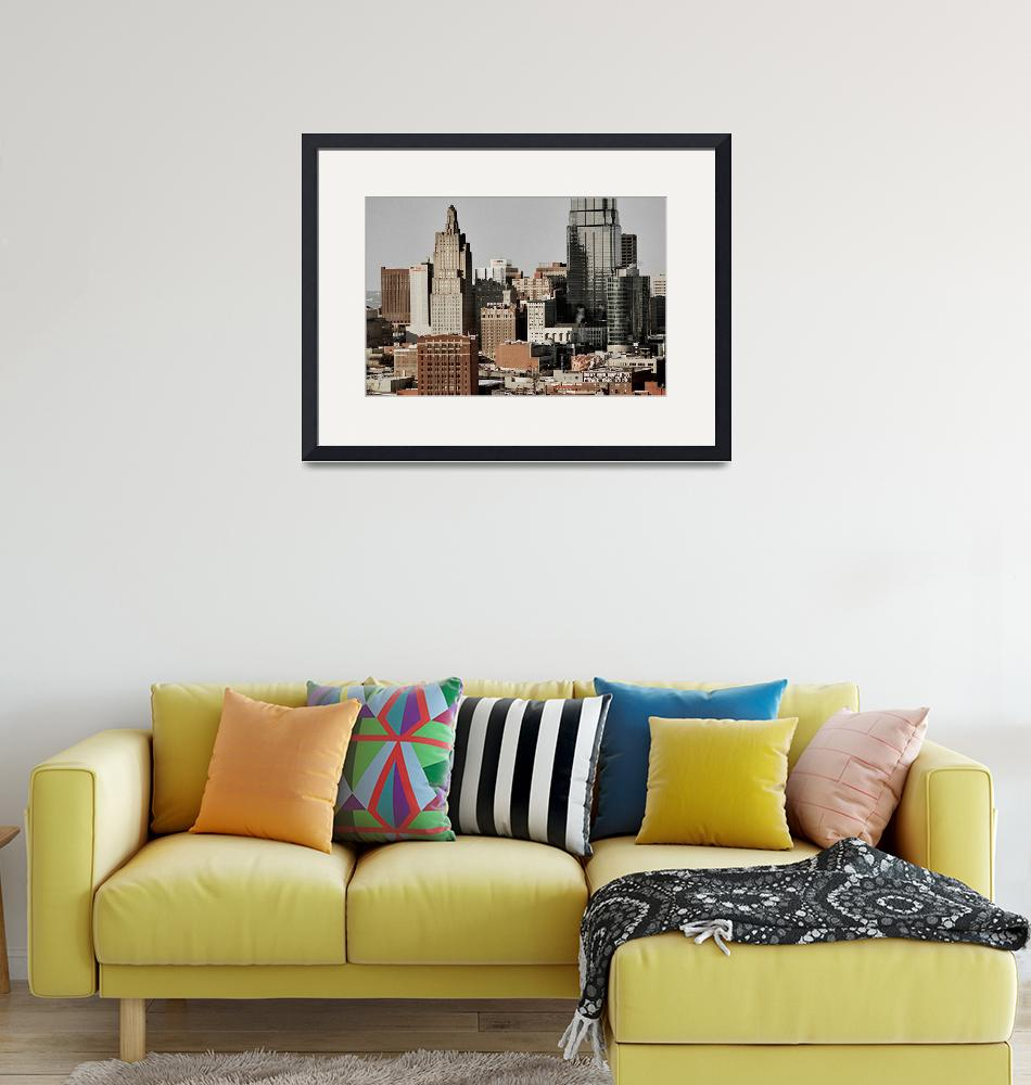 """""""KC Skyline""""  by ideaproductions"""