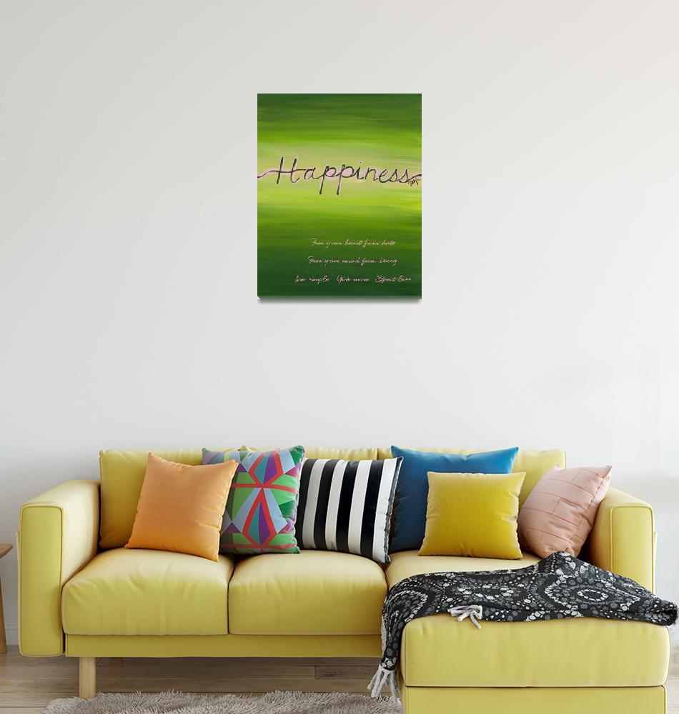 """""""Happiness""""  (2011) by tglover"""