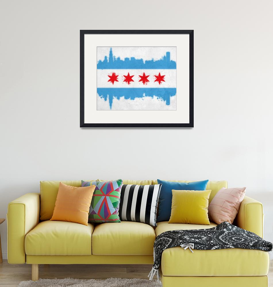 """""""Chicago Flag_HD""""  (2012) by mmaher2788"""