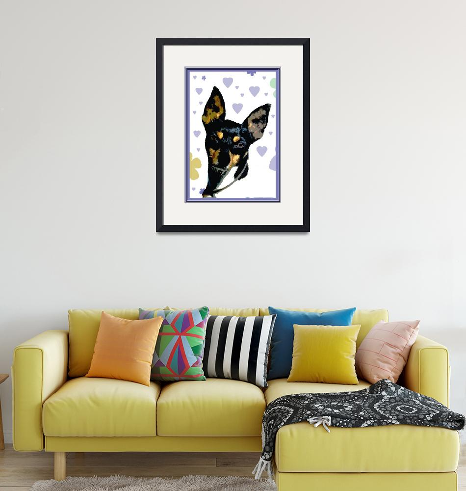 """""""Toy Fox Terrier""""  (2012) by OneRudeDawg"""