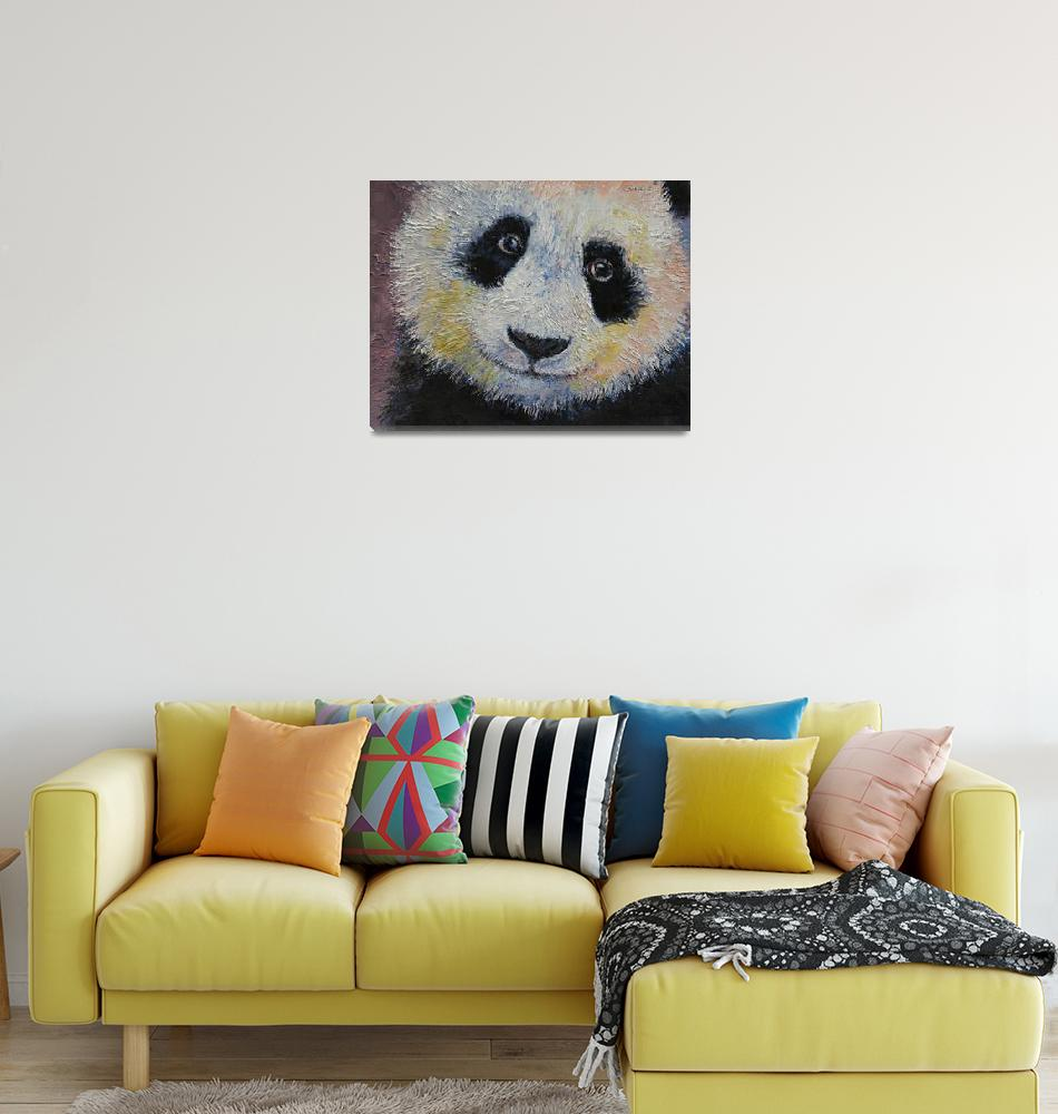 """Panda Smile"" by creese"