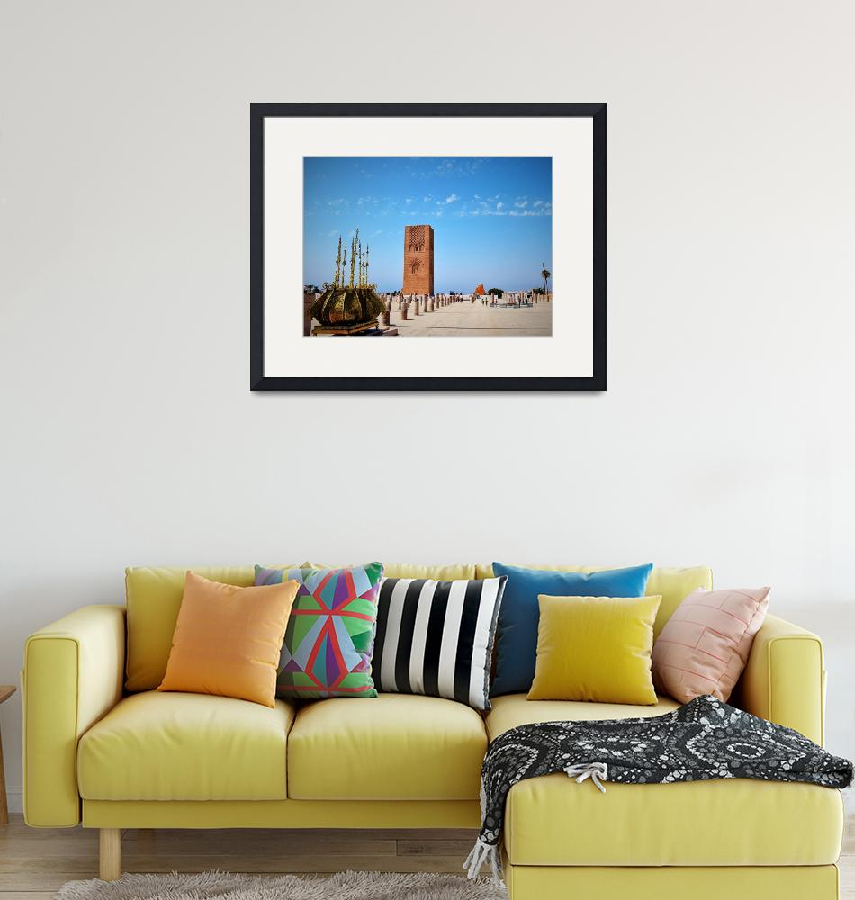 """""""Hassan Tower""""  (2016) by stabet"""