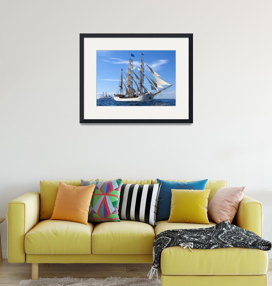 """""""Barque Europa""""  (2009) by fpi"""