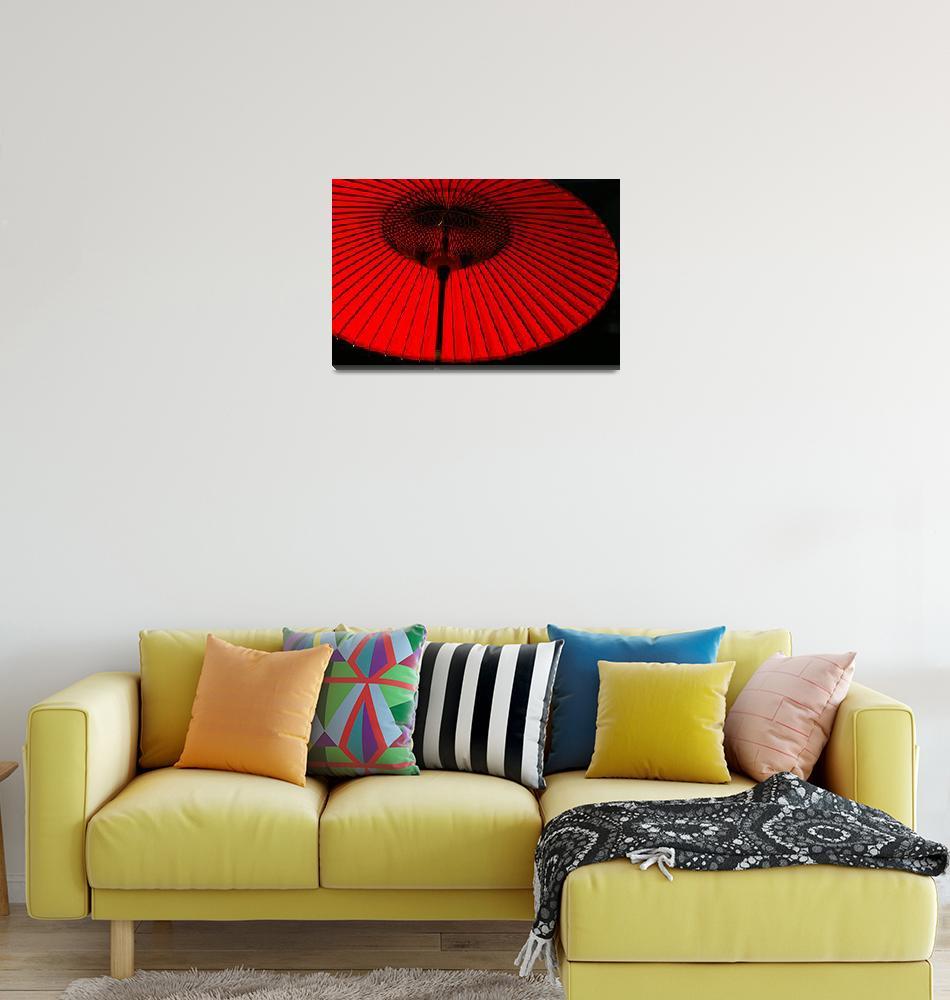 """""""red umbrella""""  by eppstein"""