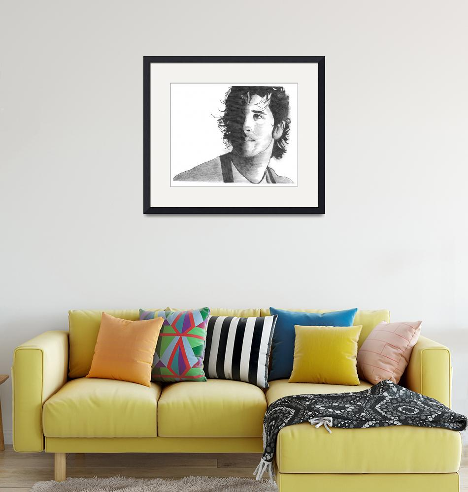 """Hrithik Roshan Sketch""  (2009) by dreamarts"