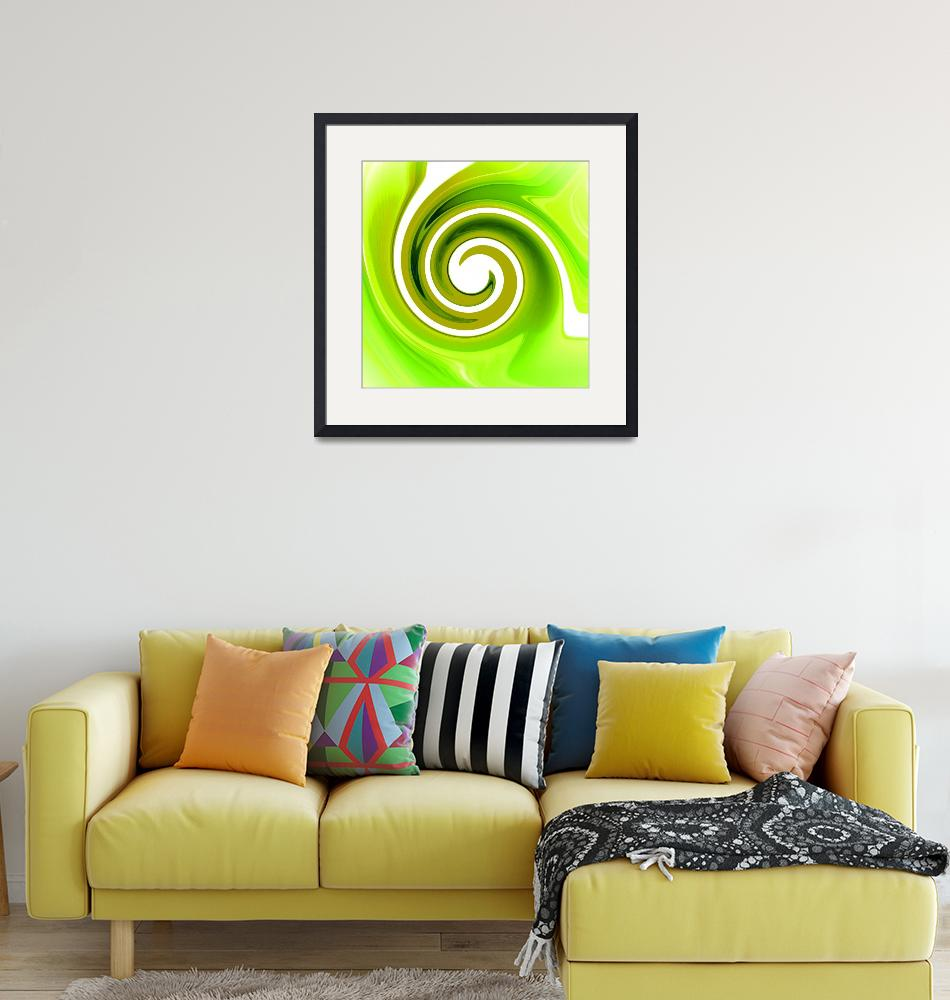"""Twisted Lime""  (2008) by ArtPrints"