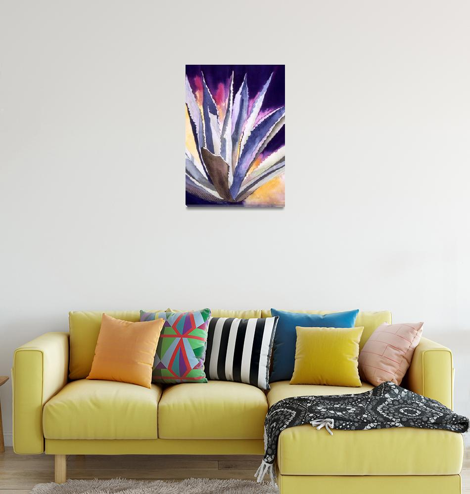 """""""Agave 5""""  (2008) by art4fish"""