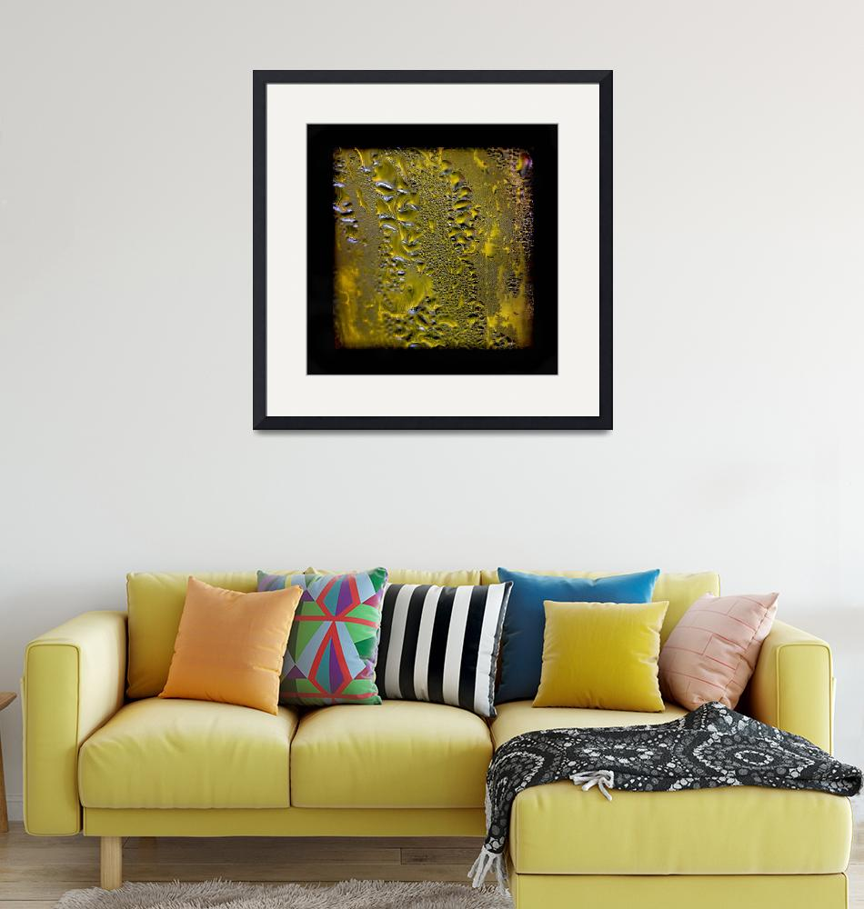 """""""Condensed Gold Square""""  (2016) by KsWorldArt"""