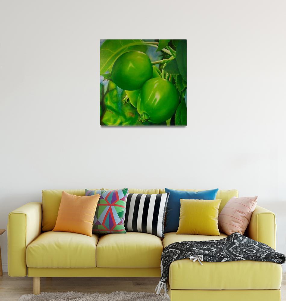 """Spring Apples (Spirits of the Garden)""  (2010) by CKlyne"