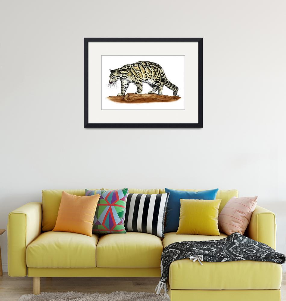 """""""Clouded Leopard""""  by inkart"""