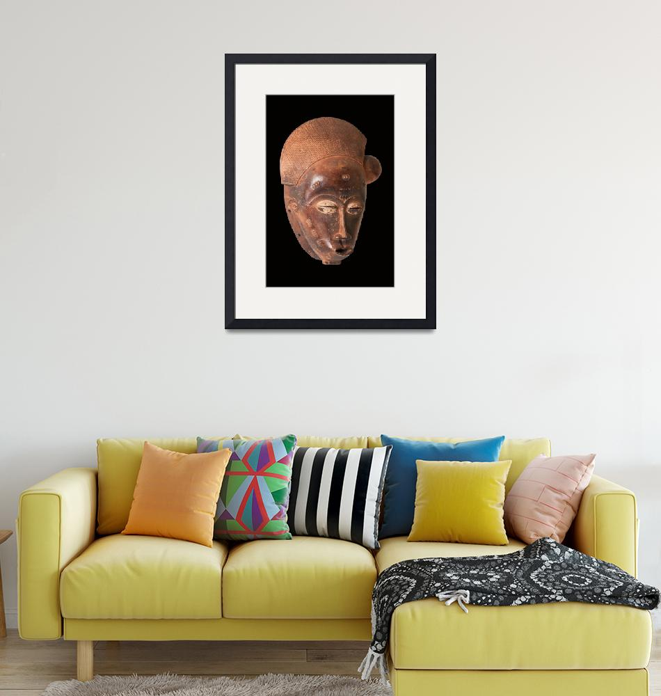 """""""African Mask""""  by visfineart"""