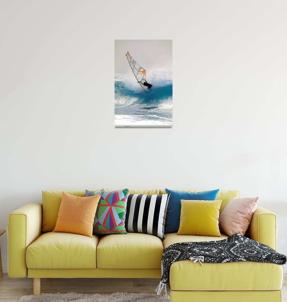 """Windsurf, Indeed!!!""  (2004) by JoaoPonces"