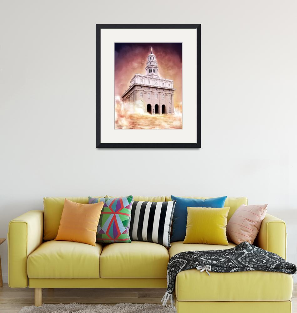 """""""Nauvoo Illinois temple""""  (2011) by Ventor"""