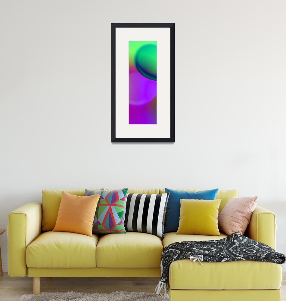"""""""the sound of colors triptych left""""  (2017) by issabild"""
