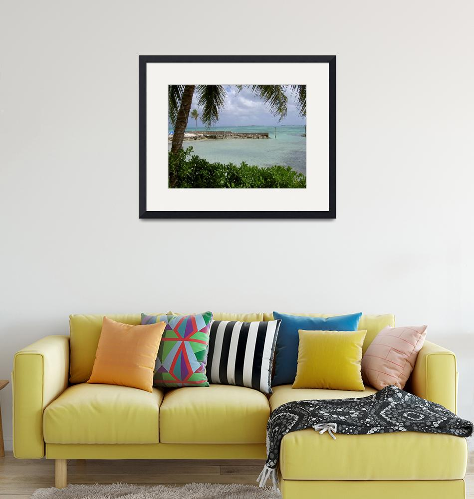 """Bahamas Beach""  (2008) by timkessel"