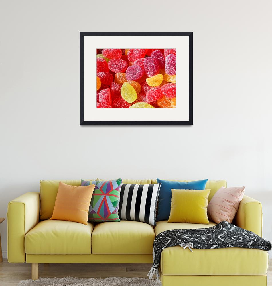 """""""Red, Orange, And Yellow Jelly Candies""""  (2018) by almarphotography"""