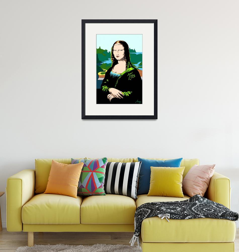 """Classics Revisited - Mona Lisa""  (2011) by ReDesign"