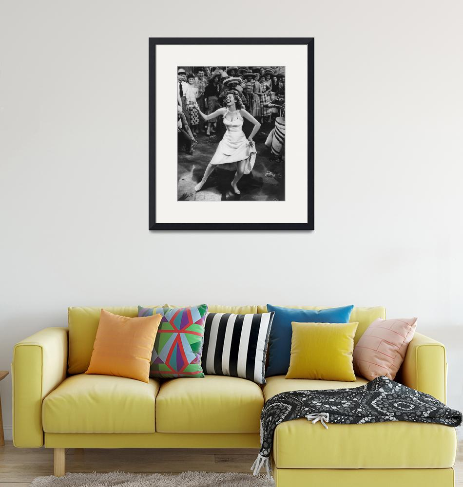"""Rita Hayworth dancing""  by RetroImagesArchive"