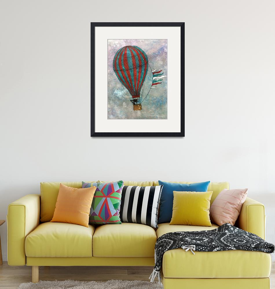 """Ballooning""  (2013) by laceychristiansen"