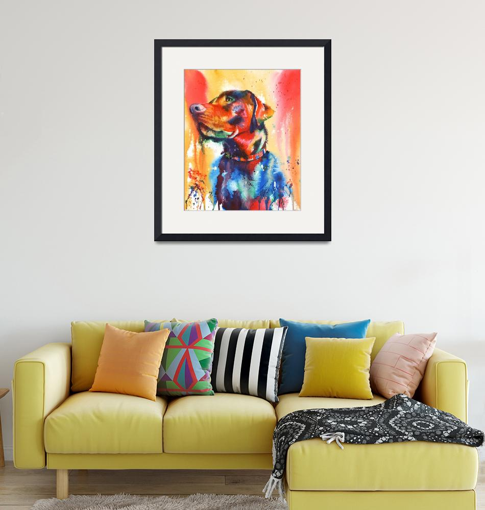 """""""A Coat of Many Colours""""  (2018) by MightyFineArt"""