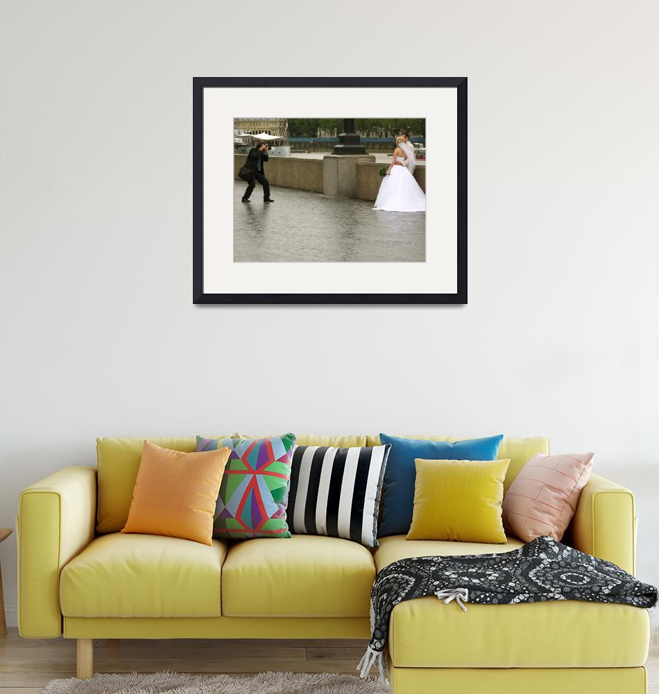 """""""Wet-wedding along the Thames""""  by pitvanmeeffe"""