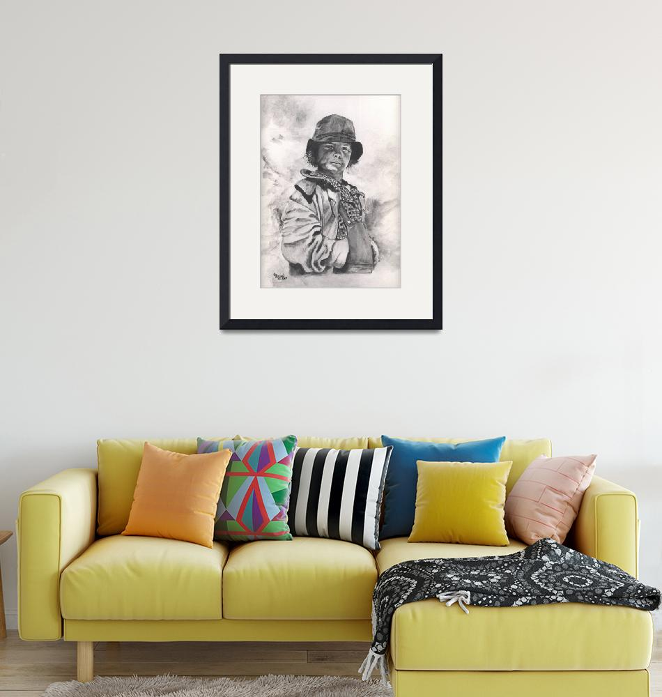 """""""Young Migrant Worker""""  (2011) by Texaslady"""