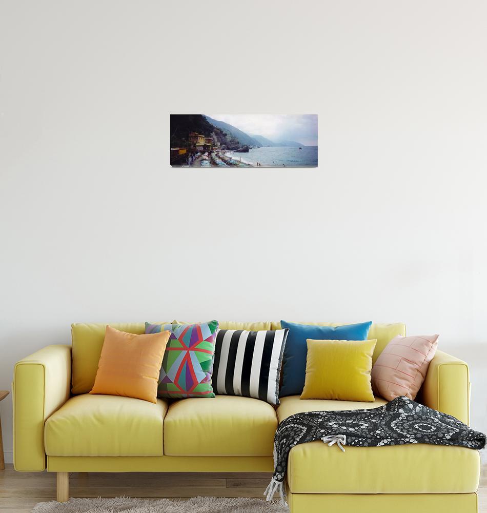 """Fegina Beach, Cinque Terre, Liguria, Italy""  by JoeBussey"