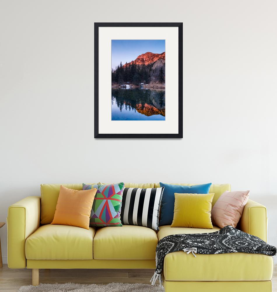 """""""Alpenglow Reflections""""  (2018) by DanBourque"""