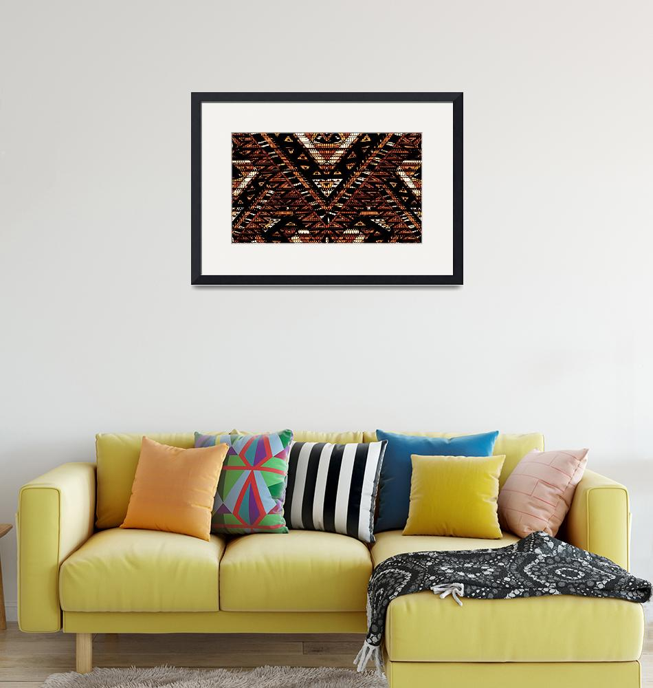 """""""Aztec Grid""""  (2016) by ecolosimo"""